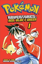 Pokémon Adventures Red, Blue & Green