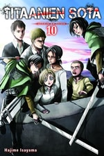 Titaanien sota - Attack on Titan #10
