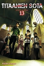 Titaanien sota - Attack on Titan #13