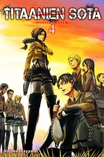 Titaanien sota - Attack on Titan #4